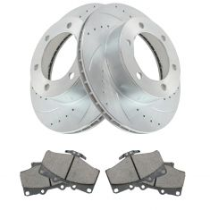 96-00 4Runner w/ 15in Whls Front Performance Rotor & Posi Ceramic Brake Kit