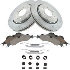 07-09 Expedition Front Performance Brake Rotor & Ceramic Pad w/HW Kit