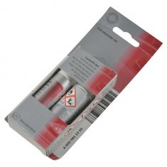 Mer Bnz 2 Part Touch-Up Paint Stick - Brilliant Silver Metalic w/Clear Coat - Color Code - 9744 (MB)