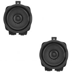 04-12 Canyon, Colorado Front; 04-12 Canyon, Colorado Ext Cab Rear Door Speaker PAIR (AC DELCO)