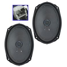 02-08 Dodge Ram 1500 (Reg & Quad); 03-05 2500, 3500 Front Door Mtd Infinity Speaker PAIR (Mopar)