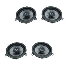 05-12 Chrysler, Dodge, Jeep Multifit Front or Rear (6.5 Inch) Kicker Speaker Upgrade PAIR (Mopar)