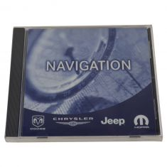 02-10 Chrysler, Dodge, Jeep Multifit (w/RB1, REC Navigation Radio) Navigation DVD Update Disc (MP)