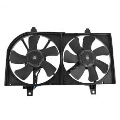 00-01 Nissan Sentra w/AC Dual Cooling Fan Assy