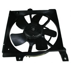 98-99 Nissan Sentra (2.0L, Automatic Transmission) Radiator Motor Cooling Fan Assembly