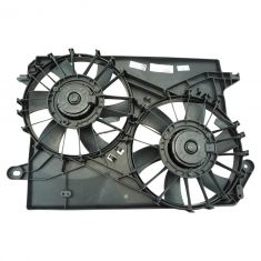 05-10 Chrysler 300, 05-08 Dodge Magnum; 06-10 Dodge Charger; 08-10 Challenger Dual Rad Fan Assy