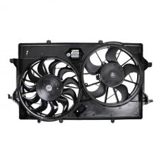 05-07 Ford Focus Dual Radiator Fan Assembly