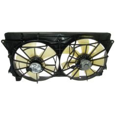 00-05 Toyota Celica, MR2 Dual Radiator Cooling Fan Assy