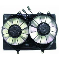 01-03 Isuzu Rodeo, Rodeo Sport w/AT 2.2L Radiator Fan Assy