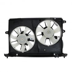 09-11 Toyota Corolla, Matrix 2.4L Radiator Dual Cooling Fan Assy