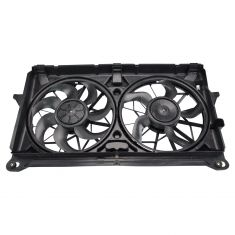 07-10 GM Full Size PU, SUV Radiator Cooling Dual Fan Assy (5 & 7  Blades)
