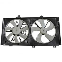 05-10 Avalon; 07-09 Camry, ES350; 09-10 Venza 3.5L Radiator Cooling Dual Fan Ass