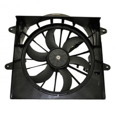 Radiator Cooling Fan Assembly (without Resistor)