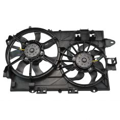 06-08 (thru 9/3/07) Chevy Equinox, Pontiac Torrent Radiator Dual Cooling Fan Assy