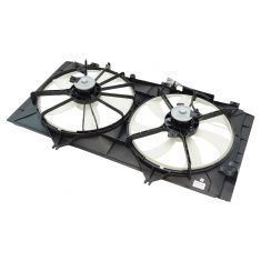 10-11 Toyota Camry 2.5L; 09-11 Venza 2.7L (w/o Towing Pkg) Radiator Dual Cooling Fan Assy