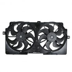 99-00 Montana, Silhouette, Trans Sport, Venture w/HD Cooling Radiator Dual Cooling Fan Assy