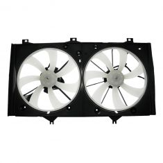 07-09 Toyota Camry w/2.4L (w/o Tow Pkg) Radiator Dual Cooling Fan Assy
