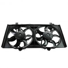 10-12 Chevy Camaro Dual Radiator Cooling Fan Assy