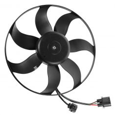 06-13 Audi A3; 12 Beetle; 09-13 CC; 07-11 Eos; 10-13 Golf Radiator Cooling Fan LH