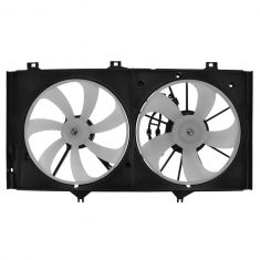 05-10 Avalon; 07-11 Camry; 07-12 ES350; 09-12 Venza w/3.5L & Tow Pkg Radiator Dual Cooling Fan Assy
