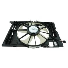 09-13 Corolla (US Built), Matrix; 09-10 Vibe w/1.8L & w/AC Radiator Cooling Fan Assy