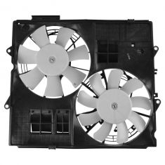 10-14 Cadillac CTS-V Dual Radiator Fan Cooling Assembly