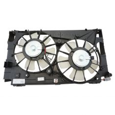 11-13 Lexus CT200H; 10-11 Prius; 12-15 Prius, Prius Plug In (7th, 8th VIN DU or DP) Dual Cooling Fan