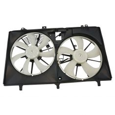 10-15 Lexus RX350. 11-16 Sienna w/3.5L (w/ or w/o Tow Package) Radiator Dual Cooling Fan Assy