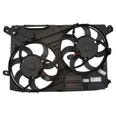 13-16 Ford Fusion w/2.0L Turbo; 13-17 Fusion w/2.5L Radiator Dual Cooling Fan Assy (w/o Controller)