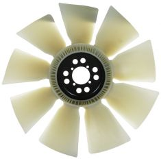 99-03 F250SD-F550SD, Van: 00-03 Excursion 7.3L Diesel 9 Blade Radiator Fan (MOTORCRAFT)