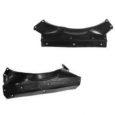 94-05 GM Mid Size SUV PU Hombre 4.3L Upper & Lower Radiator Shroud PAIR