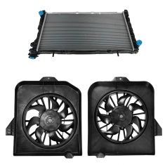 01-04 Chrysler Minivan 3.3L, 3.8L Radiator & Fan Kit