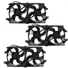98-04 Intrepid, Concorde, 300M Dual Cooling Fan Assy (3 Pack)