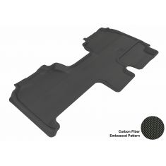 09+ Ford F150 Super Cab Black Rear Floor Liner