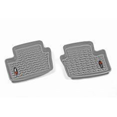 07-12 Dodge Caliber; 07-14 Jeep Compass,Patriot Gray Rear Floor Liner SET (Rugged Ridge)