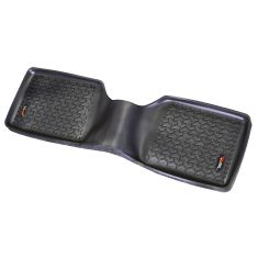 84-01 Jeep Cherokee (1 Piece) Black RearFloor Liner (Rugged Ridge)
