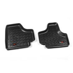 08-13 Jeep Liberty Black Rear Floor Liner SET (Rugged Ridge)