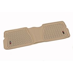 07-14 Toyota Tundra Crewmax & Double Cab(1 Piece)  Tan Rear Floor Liner (Rugged Ridge)