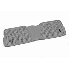 07-14 Toyota Tundra Crewmax & Double Cab(1 Piece)  Gray Rear Floor Liner (RuggedRidge)