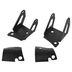 07-15 Jeep Wrangler Single 4 Inch Square LED Light Mounting Bracket Pair