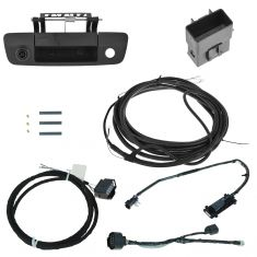 13-15 Ram 1500, 2500, 3500 (w/Camera Ready Radio) Rear View Camera Back Up Kit Assy (Mopar)