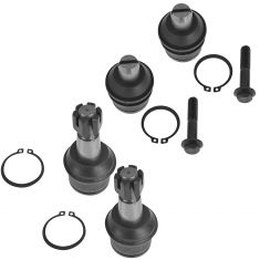 92-04 Ford E250 E350 Econoline Van Upper & Lower Ball Joint Set