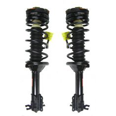 1997-03 Ford Escort Loaded Strut Rear (except ZX2 Coupe or ABS Brakes) Pair
