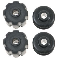 91-02 Infiniti G20; 96-99 I30; 90-01 Q45; 95-99 Maxima Upper Strut Mount Kit Rear PAIR