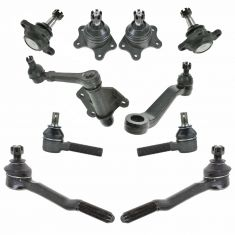 93-98 Toyota T100; 89-95 4Runner; 89-95 Pickup Front Steering Kit (10 Piece Set)