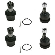 03-11 Dodge Ram 2500; 03-10 3500 4WD Frt Upper Balljoint (w/1 Degree of Adjustable Camber) Set of 4