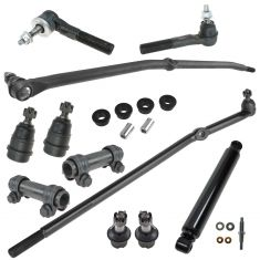 06-07 Dodge Ram 1500; 03-07 2500, 3500 Front Suspension Kit (12 Piece Set)
