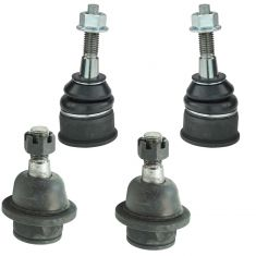 Ford Lincoln Mercury Upper & Lower Ball Joint Kit (Set of 4)