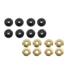 86-04 Chrysler Mid Sze; 86-95 Ford, Mercury; 88-94 Lincoln w/FWD Front Strut Rod Bushing Kit PAIR