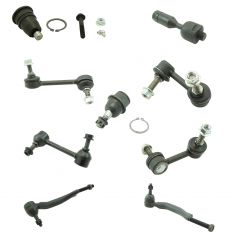 02 GM Mid Size SUV 12 Piece Front Suspension Kit